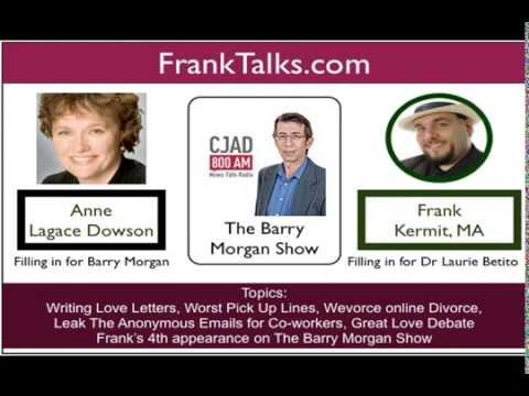 Frank Kermit on the Barry Morgan Show