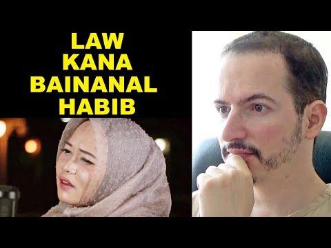 LAW KANA BAINANAL HABIB - Sabyan's Cover By Anisa Rahman REACTION + REVIEW