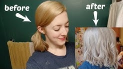 TONING MY HAIR - WELLA COLOR CHARM T18 DEMO