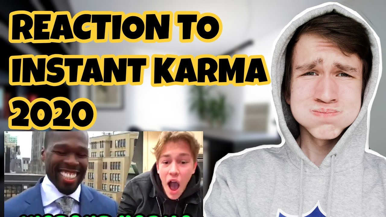 Reaction To Instant Karma Compilation 2020 Youtube