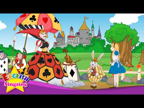 Alice's Adventures in Wonderland - Can you play the violin? - English animated story for kids