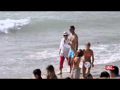 Iñaki Urdangarín pasa sus vacaciones más tristes en Bidart