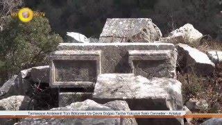 Termessos Antikkenti Tüm Bölümleri Ve Çevre Doğası Tarihe Yolculuk Saklı Cennetler - Antalya