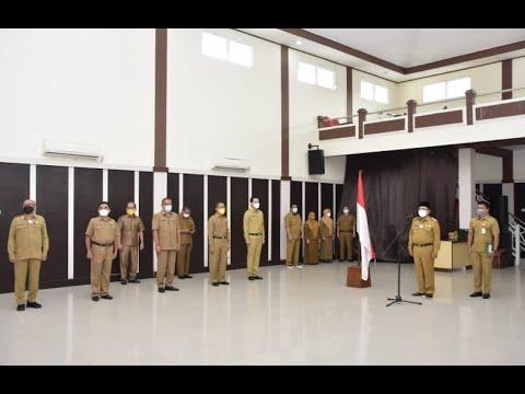 Pemkot Gorontalo Gelar Apel Kerja Perdana Tahun 2021