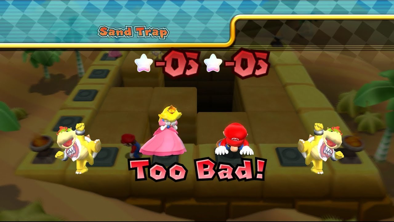 Mario Party 9 Bowser Station Party 9 Player Master Difficult