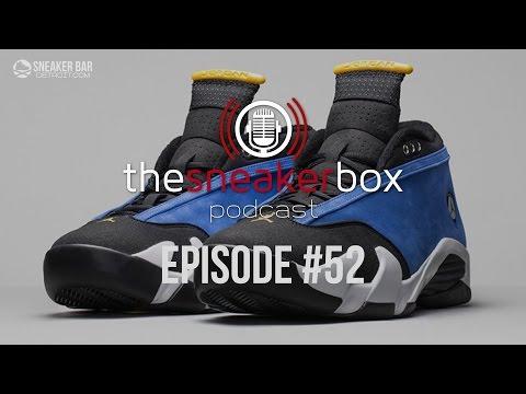 """The Sneaker Box: Episode 52 – """"Kickin' It About Kicks"""""""