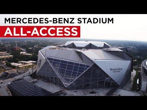 Atlanta's Mercedes-Benz Stadium: All-Access