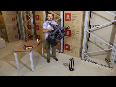 Как снять крестовину с кресла на колесиках