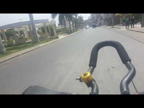 Bicicleteando en la hermosa ciudad de Chiclayo