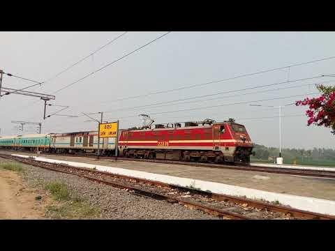 22888 Yesvantpur Howrah Humsafar express skips Urlam railway station in a blaze.