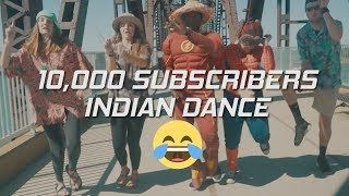 Hillarious 10K Subscribers Dance + Giveaway || Tunak Tunak Tun