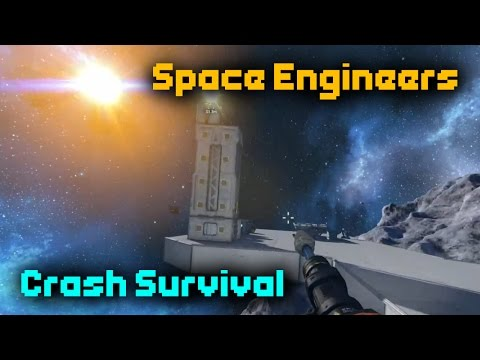 A new beginning! - Space Engineers Stranded Survival #1