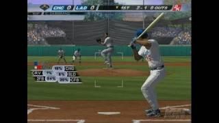 Major League Baseball 2K7 Xbox Gameplay - Schmidt