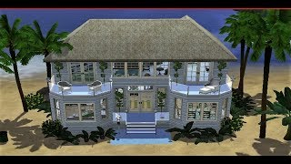 The Sims 3 Speed Build: Beach Holiday House