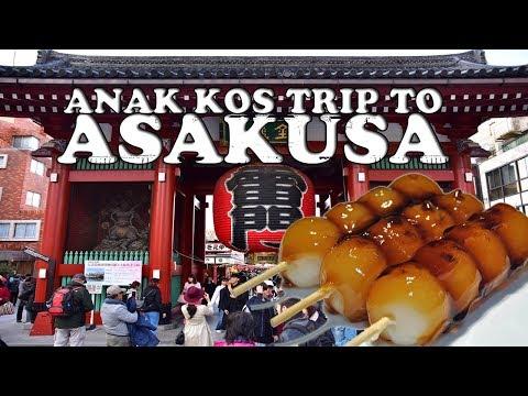 TRAVEL-FOOD-VLOGGG: ASAKUSA - JEPANG!! | BAD LUCK!