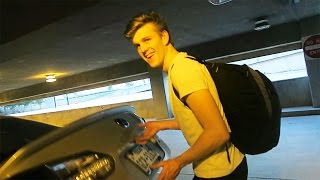 TRUNK SCARE PRANK ON LACHLAN!