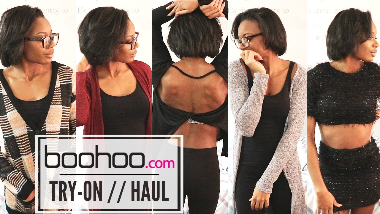 9639d42532fd BOOHOO.COM | Winter Try-on Haul | #BlackGirlsYouTubeToo - YouTube