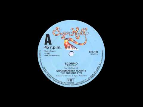 Grandmaster Flash & The Furious Five- Scorpio (Remastered)