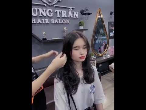 Kiểu tóc Uốn Sóng Layer Cho Các Nàng Có Khuôn Mặt Nhỏ   Tóm tắt những thông tin nói về kiểu tóc đẹp cho khuôn mặt nhỏ mới cập nhật