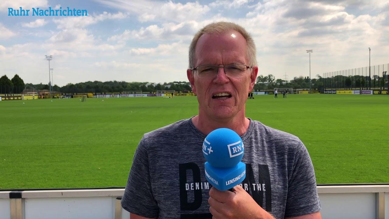 So lief das erste offizielle BVB-Training in Brackel