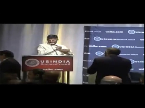 Standing Ovation to CBN in US India Business Council