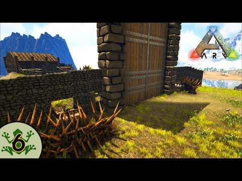 Ark: Gaming Evolved S4 - Defensive Wall and Dilo Turrets! [6]