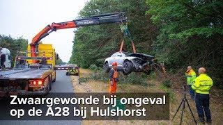 Zwaargewonde bij ongeval A28 tussen Nunspeet en Harderwijk - ©StefanVerkerk.nl
