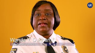 #BlackGirlMagic series: Wanda Dunham, Chief of MARTA police