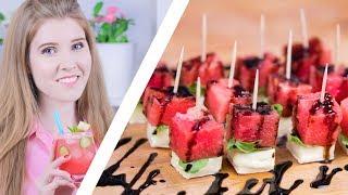 ТРИ АРБУЗНЫХ РЕЦЕПТА | Мохито и салат из арбуза