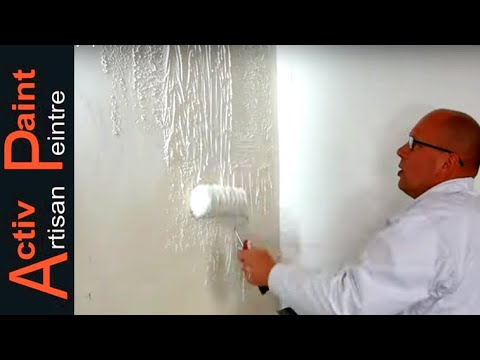 How To Coat A Wall With A Roller