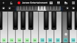 Mere Rashke Qamar Slow Version Piano Tutorial | Jarzee Entertainment