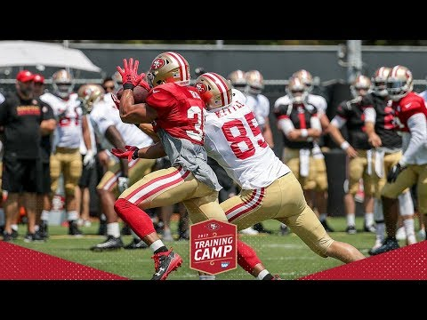 Camp Highlight: 49ers DBs Break Up Passes