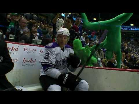 The Green Men at the Playoffs Vs the LA Kings