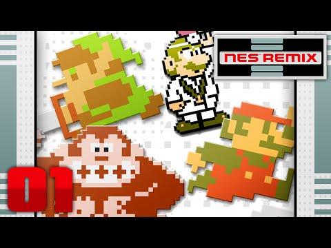 NES Remix Pack 2: Gameplay Part 1