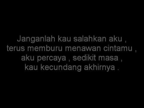 Spider - Rela Ku Pujuk ( Lyrics )