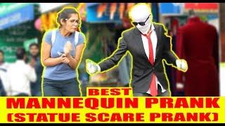 BEST EVER MANNEQUIN PRANK (VERY FUNNY) |PRANKS IN INDIA|