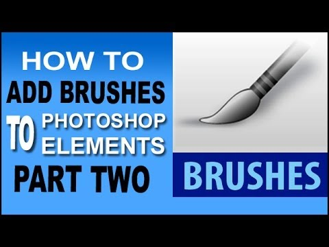 Load Brushes In Photoshop Elements