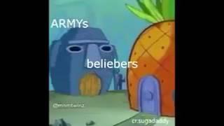 ARMYS (BTS) VS BELIEBERS (JUSTIN BIEBER)