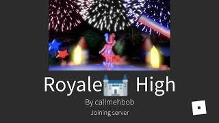 Playing Roblox Royals High| ROBLOX| Gacha Kittens