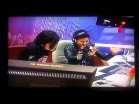 AZMIR ARIF- DI WAWANCARA OLEH DJ MUAZ DI RADIO NASIONAL FM' LIVE TV  i TV 180 ASTRO
