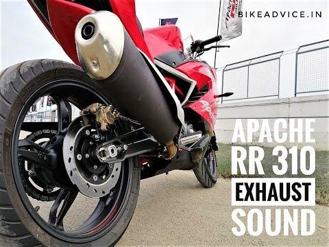 TVS APACHE 310 Exhaust Sound
