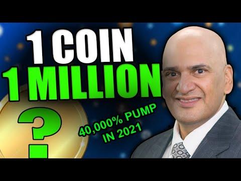 1 COIN TO 1 MILLION - Teeka Tiwari Top Altcoin Pick For 2021 [It's ACTUALLY A Good Coin]