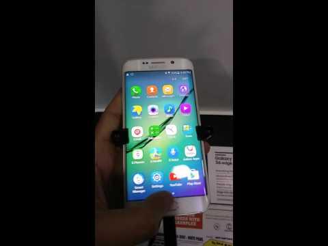Samsung Galaxy S6 Edge Super Amoled BURN-IN