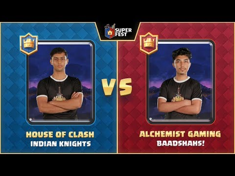 #SuperFest - Clash Royale - Match 1 - Game 2 - 1V1