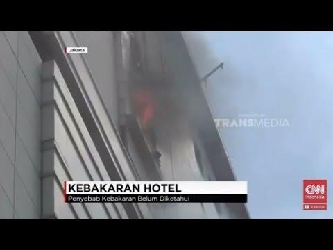 Ruang Karaoke Gedung Grand Paragon Kebakaran, Puluhan Unit Pemadam Dikerahkan
