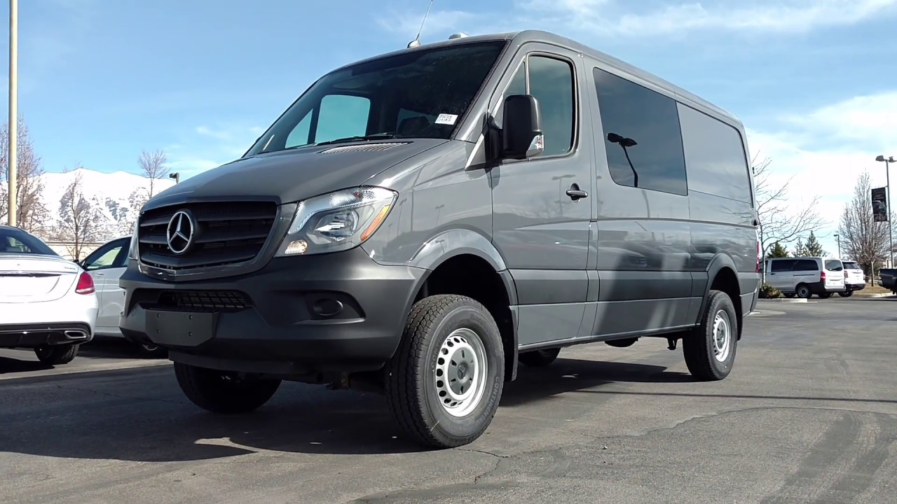sprinter van by mercedes benz 4x4 gp347020 mercedes benz of lindon youtube. Black Bedroom Furniture Sets. Home Design Ideas