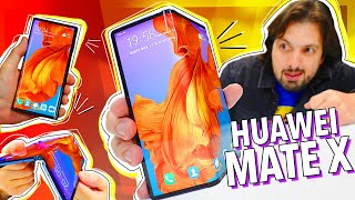 HUAWEI MATE X: HANDS ON!