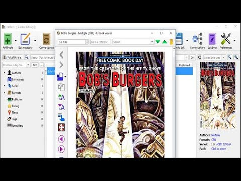 How to View CBR and CBZ Comic Books in Calibre