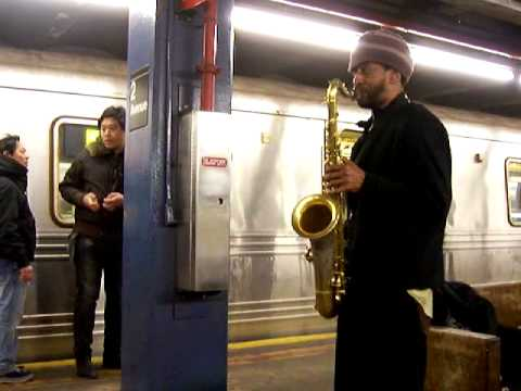 Subway sounds- sax in second ave 102 9502.MO