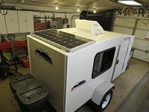 runaway camper solar power install